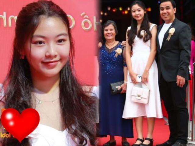 Con gái Quyền Linh được khen xinh trên MXH, ảnh mặt mộc ngoài đời như Hoa hậu
