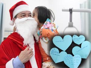 Bác sĩ hóa thân thành Ông già Noel và điều ước nhỏ nhoi của những em bé trong bệnh viện