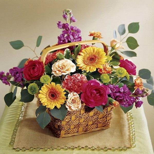 Hướng dẫn cách cắm hoa ngày Tết đẹp để rước tài lộc, may mắn - 17