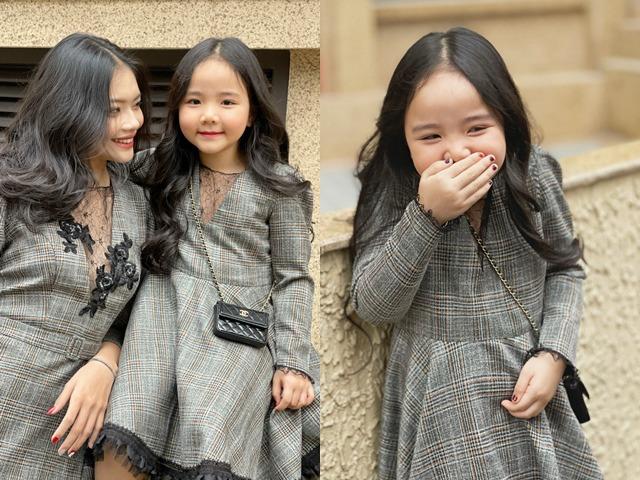 Trang Nhung khoe cháu gái 18 tuổi nhưng biểu cảm của cô con gái 5 tuổi chiếm trọn spotlight