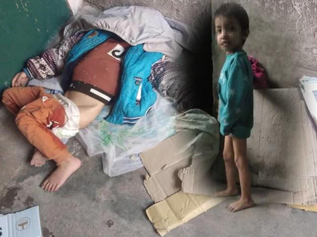 Bà ngoại bạo hành bé trai 6 tuổi, cho ngủ ngoài hè, nhốt vào lồng sắt đẩy đi ăn xin