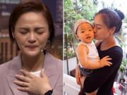 Trong   Hương vị tình thân   khó có con, ngoài đời Thu Quỳnh từng tuyệt vọng trong phòng phụ sản