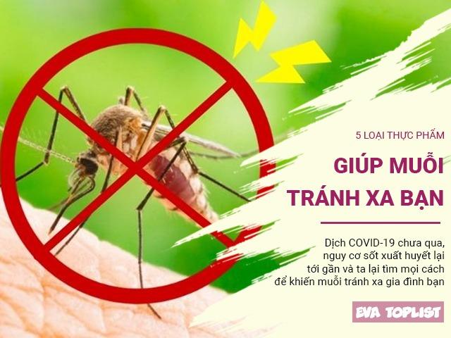 Phòng dịch sốt xuất huyết: 5 loại thực phẩm khiến muỗi tránh xa, bạn nên nấu cho cả nhà
